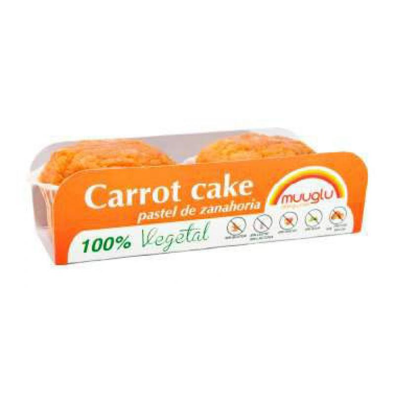 Pastel de zanahoria 120 gr