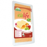 Lonchas Veganas sabor queso con tomate y albahaca 200 gr