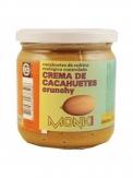 Crema Cacahuetes crujiente bio 330 gr