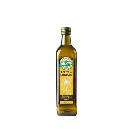 Aceite de girasol ecológico 0.75