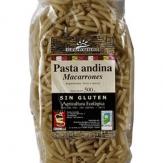 Pasta Andina Macarrones Bio  500 gr