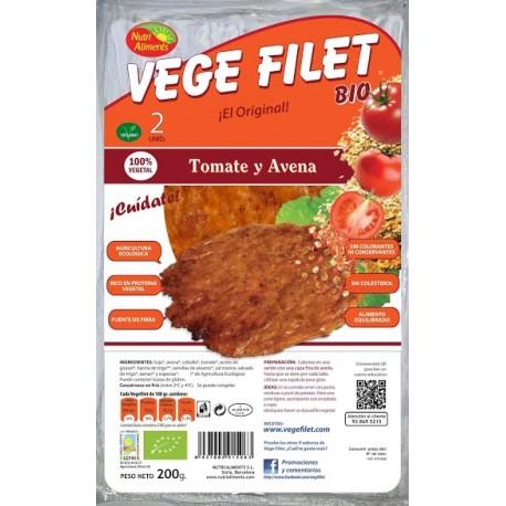 Vege Filet Tomate y Avena Bio 200 gr