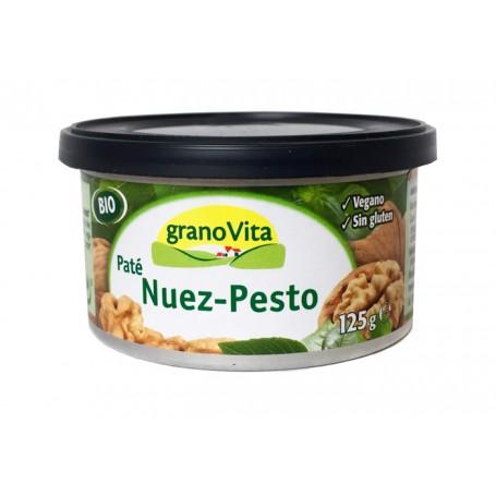 Paté Nuez y Pesto Bio 125 gr