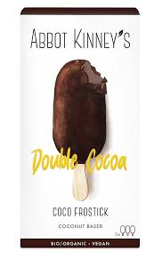 Helado doblecobertura de chocolate