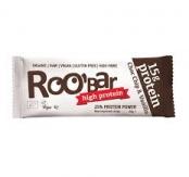 Barrita Choc Chip & Vanilla Sin Gluten Roobar 60 gr