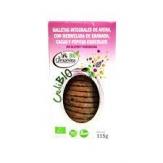 galleta avena, granada, cacao y pepitas de chocolate la campesina sin gluten