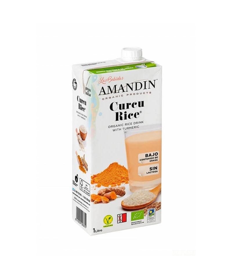 Curcurice bebida de arroz con cúrcuma 1 l