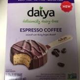 helado cafe espreso daiya