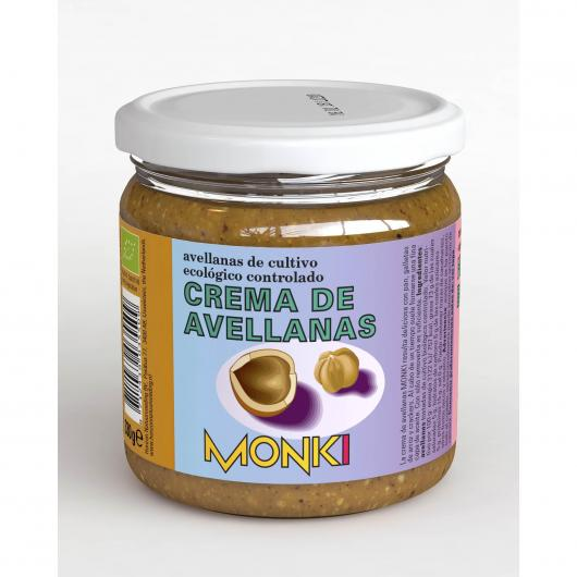 Crema de avellanas Monki  330 gr