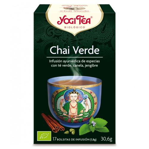 Yogi tea chai verde bio