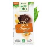 chocolate negro con naranja 100g jardin bio