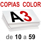 A3 Copias Color de 10 a 59