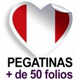 Pegatinas. Más de 50 folios (A4)