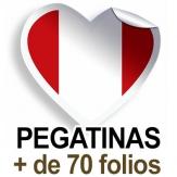 Pegatinas. Más de 70 folios (A4)