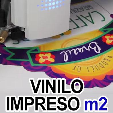 Vinilo Impreso x Metro cuadrado. Para rotulación