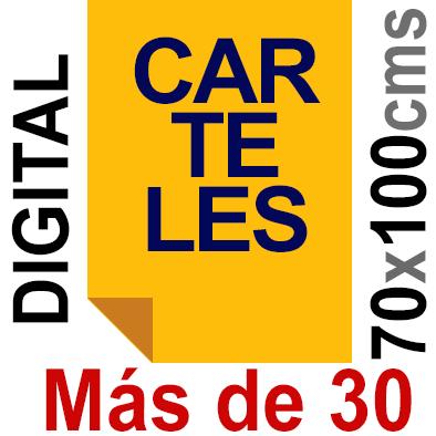 Cartel 70x100 - Más de 30  Impresión Digital en papel póster