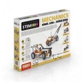Construcción ruedas, ejes y planos inclinados - Discovering STEM