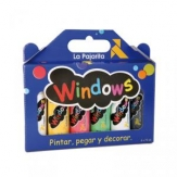 Kit pintura Windows 75ml 6 colores