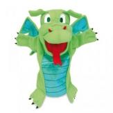 Marioneta dragón verde