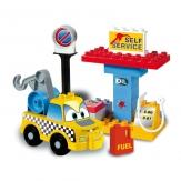Construcción Gasolinera 19 piezas