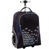 Trolley ruedas grandes negro azul