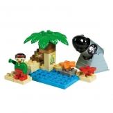 Construcción isla pirata 20 piezas