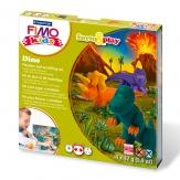 Kit pasta Fimo Kids Dinosaurios
