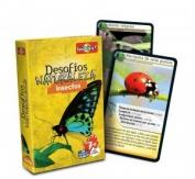 Cartas desafíos naturaleza insectos