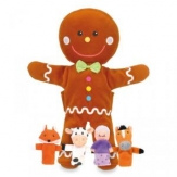 Marioneta Gingerbread man