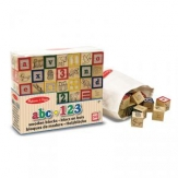Bloques de madera ABC 123