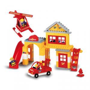 Construcción bomberos 96 piezas