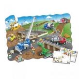Puzzle doble construcción 50 piezas