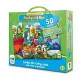 Puzzle suelo jumbo insectos de jardín 50 piezas
