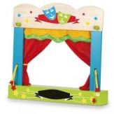 Teatro marionetas sobremesa