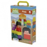 Construccion super blocks pets 18 pza