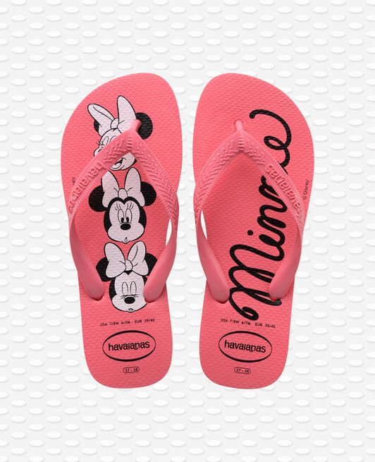 Havaianas Top Disney Minnie Rosa