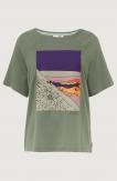 Azure T-shirt Lily Pad