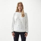 Mini print sweatshirt