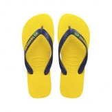 Havaianas BRASIL LOGO Yellow