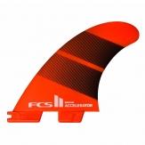 FCS II Accelerator Neo Glass Tri Fin