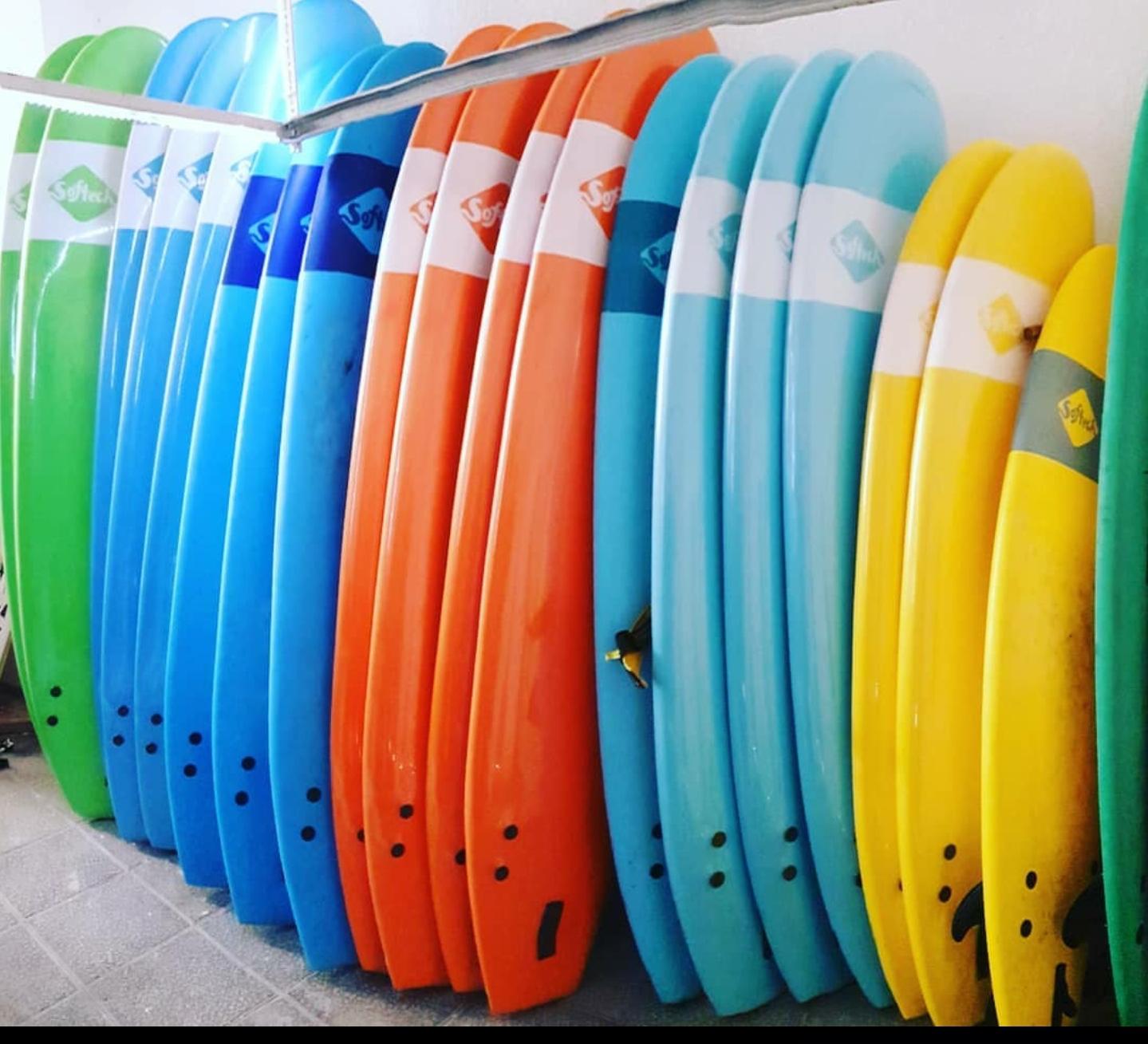 Alquiler Surf 1 Semana ESPECIAL FASE 0 Soft Board