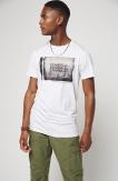 Photo Hybrid T-shirt White