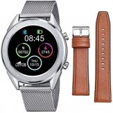 61 LOTUS SMART WATCH ACERO Y CORREA MARRON