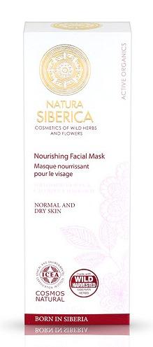 NUTRITIVA Mascarilla facial para piel normal y seca