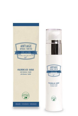SERUM FACIAL ANTIAGE VIVE LA VIDA MEN, 50 ML