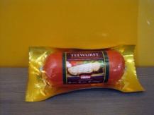 Teewurst paté de carne ahumada
