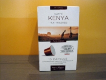 Cápsulas café Kenya intensidad alta
