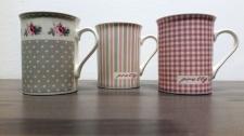 Taza diseño vintage en rosa