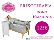 Bono 10 sesiones presoterapia