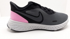 Deportiva Nike revolution negra-rosa